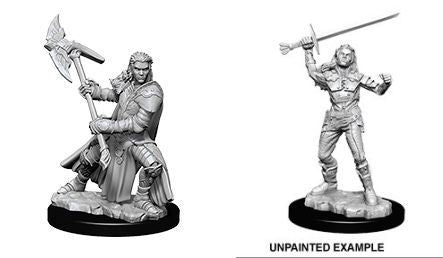 D&D Nolzurs Marvelous Unpainted Miniatures Female Half Orc Fighter