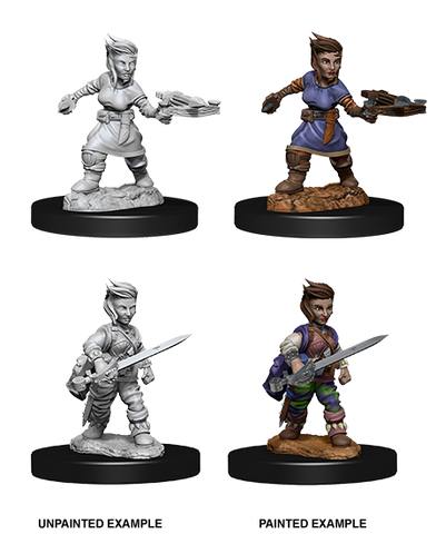 Pathfinder Deep Cuts Female Halfling Rogue