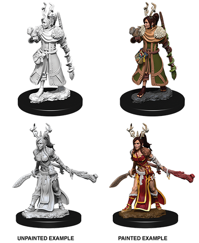D&D Nolzurs Marvelous Unpainted Miniatures Female Human Druid