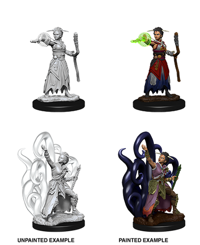 D&D Nolzurs Marvelous Unpainted Miniatures Female Human Warlock