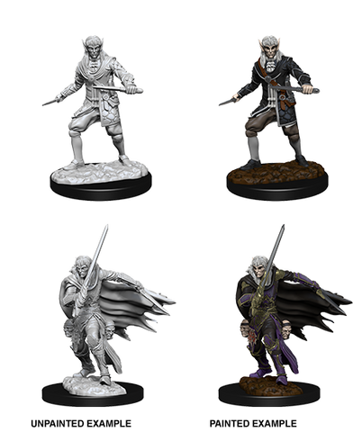Pathfinder Deep Cuts Unpainted Miniatures Male Elf Rogue