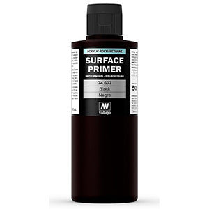 74.602 Vallejo Auxiliary Surface Primer Black (200ml)