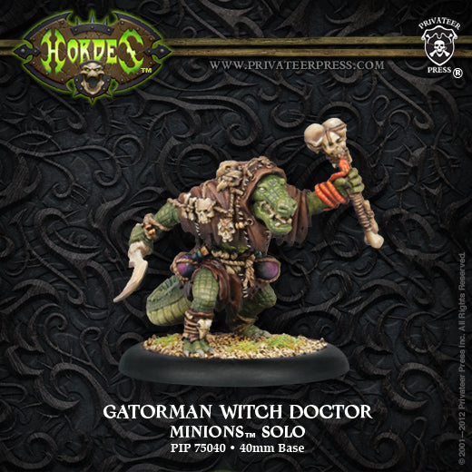 PIP75040	Gatorman Witch Doctor