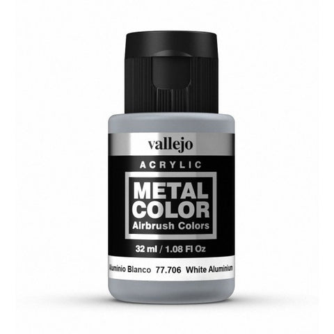 77.706 White Aluminium - Vallejo Metal Color