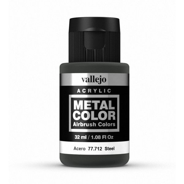 77.712 Steel - Vallejo Metal Color