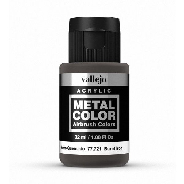 77.721 Burnt Iron - Vallejo Metal Color