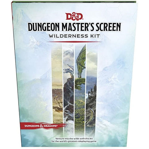D&D Dungeon Master's Screen Wilderness Kit