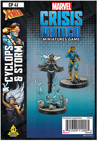 Marvel Crisis Protocol Storm and Cyclops Character Pack