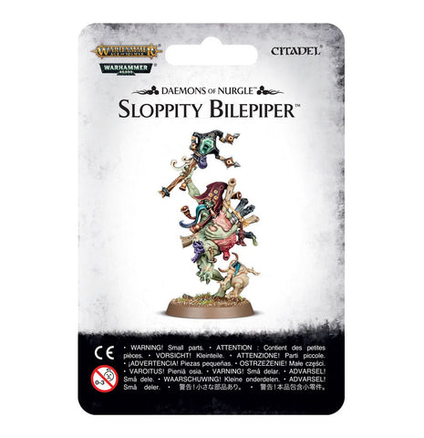 Sloppity Bilepipper, Herald of Nurgle