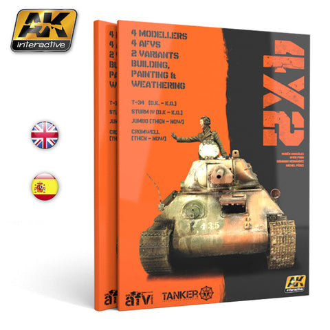 4X2: Building, Painting and Weathering Techniques on AFVs (130+ pages)