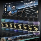 Sky & Ice Blue Paint Set