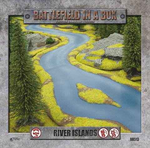 Battlefield in a box - River Expansion - Island