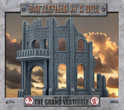Gothic Battlefields - Grand Vestibule (x1) - 30mm