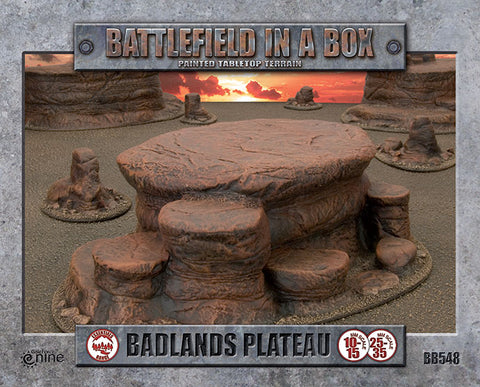 Battlefield in a box - Badlands Plateau - Mars (x1) - 30mm