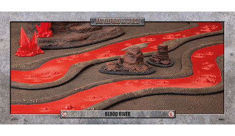 Battlefield in a box - Blood River (6ft) - 30mm