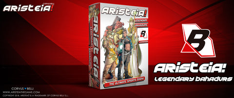Aristeia - Legendary Bahadurs expansion