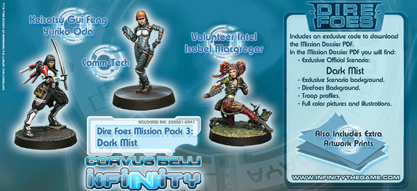 INFINITY: NEOPRENE AOE'S : landing zone Muse on Minis