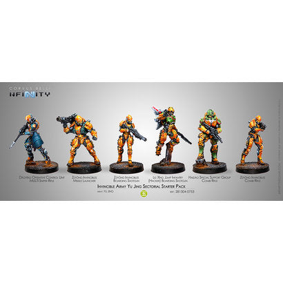 INVINCIBLE ARMY YU-JING SECTORIAL STARTER PACK 281304