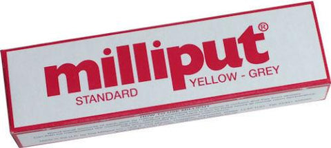 Standard Yellow-Grey Milliput Epoxy Putty