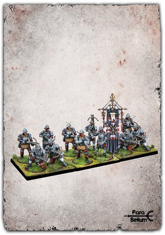 Conquest - Hundred Kingdoms Mercenary Crossbowmen