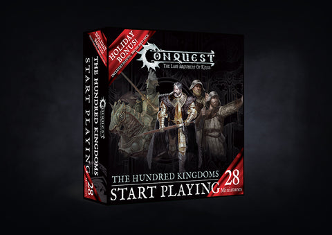 Conquest - The Hundred Kingdoms Start Playing set