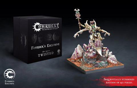 Conquest - Spires: Twisted Retinue Founder's Exclusive Edition