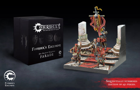 Conquest - Hundred Kingdoms: Parade Retinue Founder's Exclusive Edition