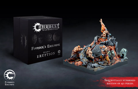 Conquest - Dweghom: Eruption Retinue Founder's Exclusive Edition