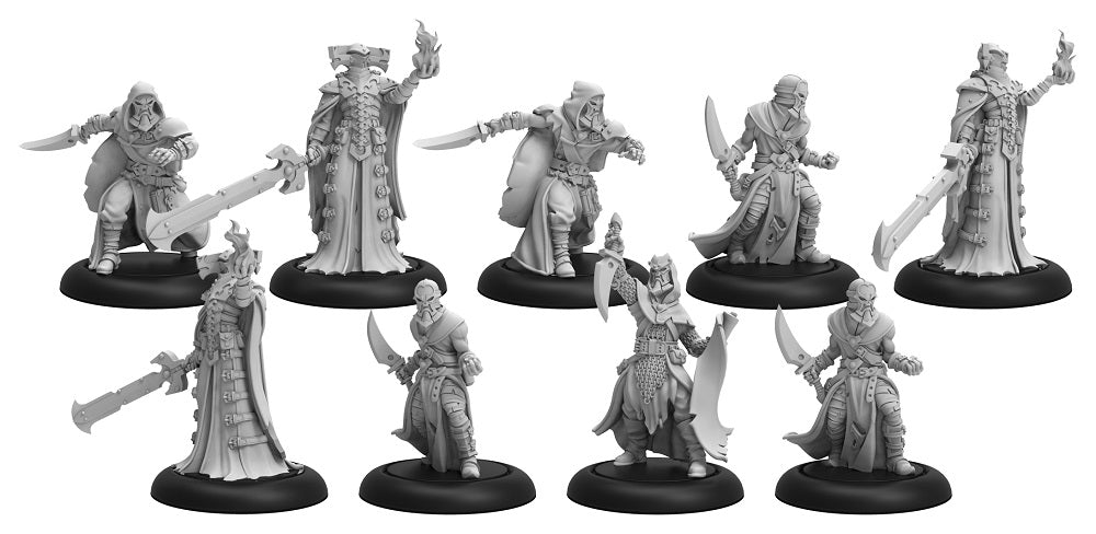 (Preorder july 2019) PIP38005 Cultist Band and Dark Sentinels