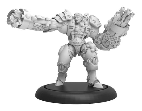 PIP63012 Boss MacHorn - Riot Quest Guard