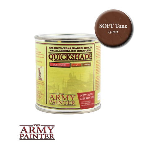 Army Painter : Quick Shade - Soft Tone (250ml)