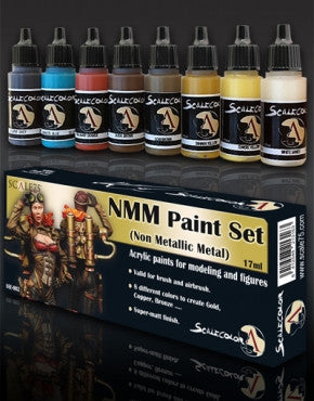 Non-Metallic Metal Paint Set - Gold
