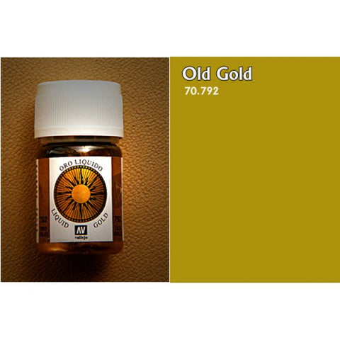 70.792 Vallejo Liquid Metallics: Old Gold