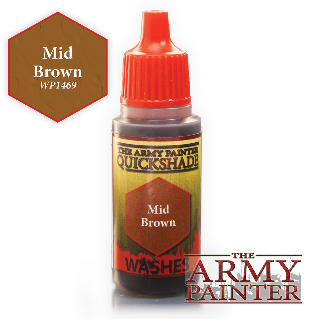 Army Painter Ink - Mid Brown