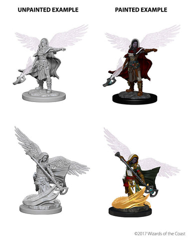 D&D Nolzurs Marvelous Unpainted Miniatures Aasimar Female Wizard