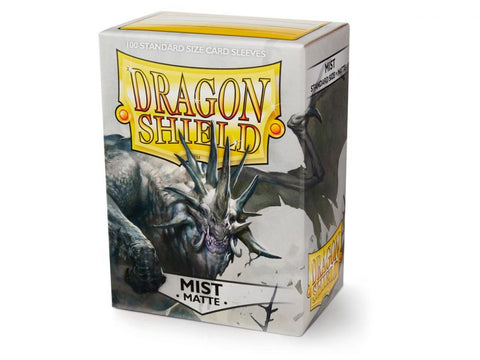Sleeves - Dragon Shield - Box 100 - Pastel Matte Mist