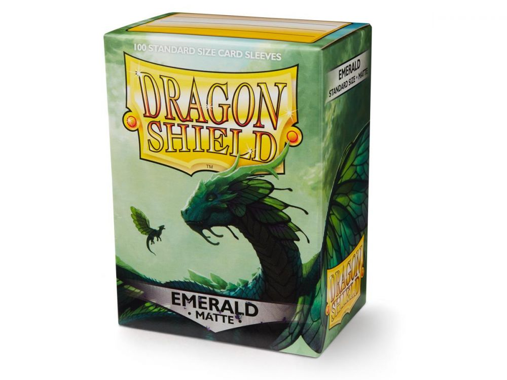 Sleeves - Dragon Shield - Box 100 - Matte Emerald