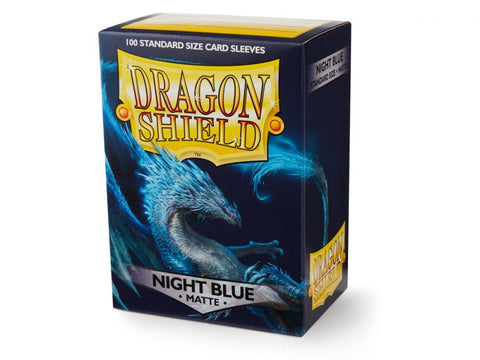 Sleeves - Dragon Shield - Box 100 Night Blue