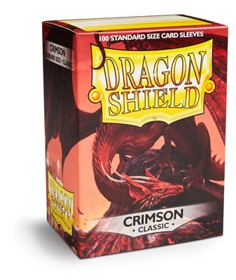 Sleeves - Dragon Shield - Box 100 - Crimson
