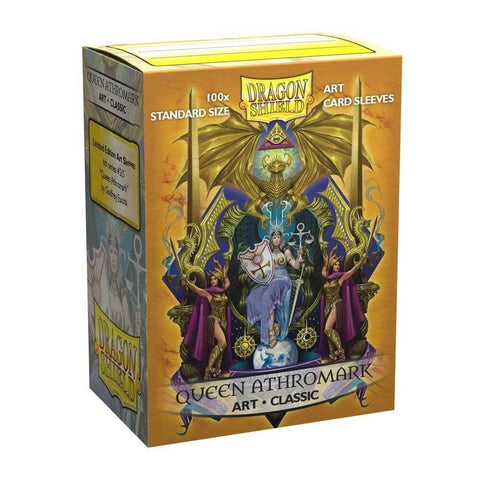 Dragon Shield - Box 100 - Art - Queen Athromark