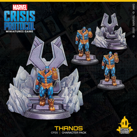 Marvel Crisis Protocol Miniatures Game Thanos