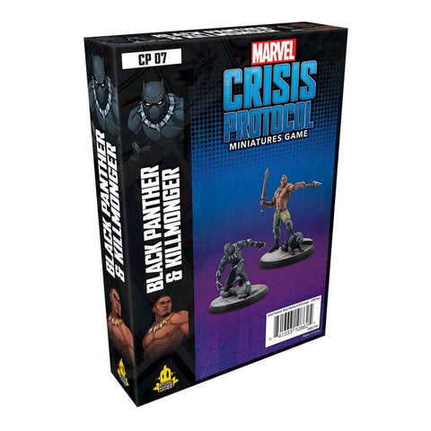 Marvel Crisis Protocol Miniatures Game Black Panther and Killmonger Expansion