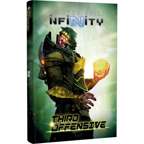 Infinity Third Offensive Hardcover Book