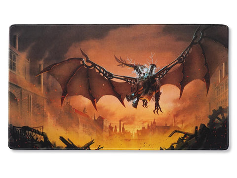 Dragon Shield Playmat Coin and Case Copper Draco