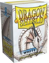 Sleeves - Dragon Shield - Box 100 White