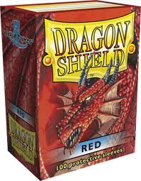 Sleeves - Dragon Shield - Box 100 Red