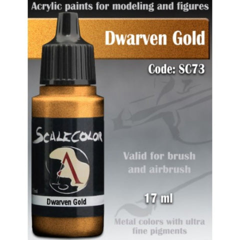 Scalecolor SC 73 Metal Dwarven Gold