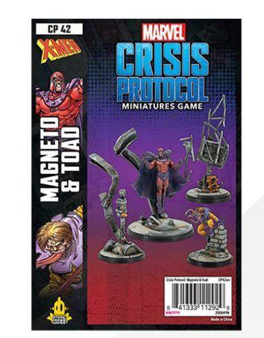 Marvel Crisis Protocol Magneto and Toad Character Pack