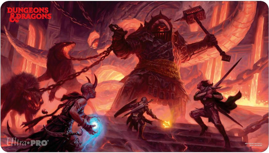 Dungeons and Dragons Fire Giant Playmat