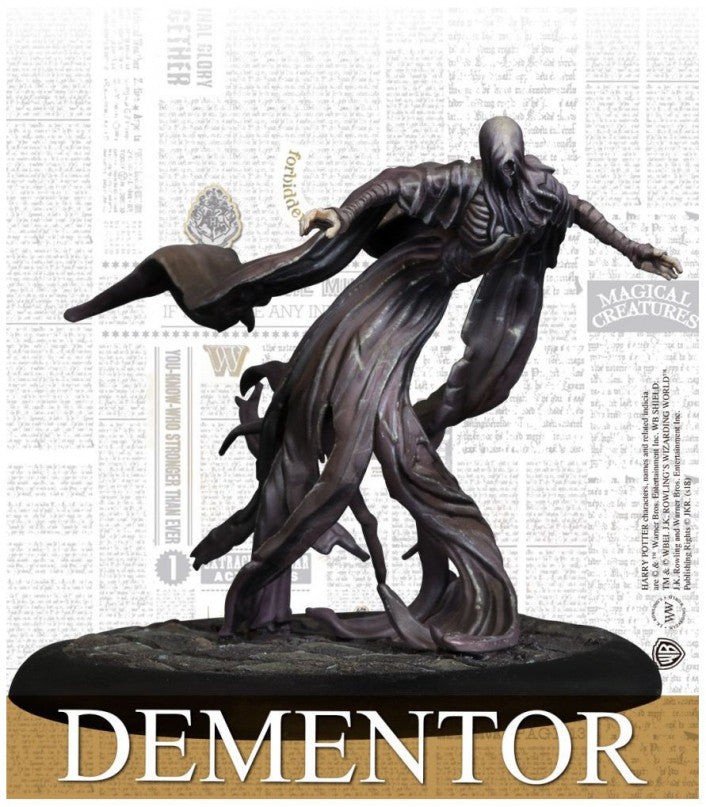 Harry Potter Miniatures Adventure Game Dementor Adventure Pack